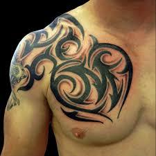 tribal designs for chest best design