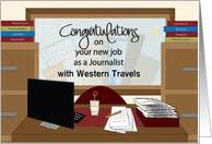 Congrats On New Job Card Reporter Congratulations On New Job Cards From Greeting Card Universe