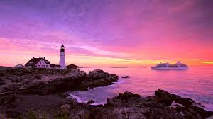 portland head light lighthouse portland head lighthouse maine sunrise sept 2014 youtube