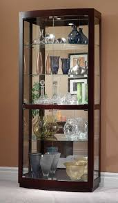 Oak Curio Cabinets Curio Cabinet Kanes Furniture You Wont Find It For Less Cabinet