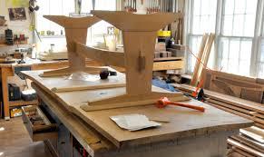 Oak Slab Table by Dorset Custom Furniture A Woodworkers Photo Journal An Oak Slab