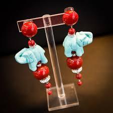 angela caputi earrings lost in florence angela caputi