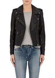 leather moto jacket barneys new york barneys new york women u0027s leather moto jacket