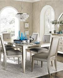ailey dining room furniture 7 piece set dining table and 6 side