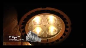 philips master ledspot mv gu10 7w dimmable led spotlight