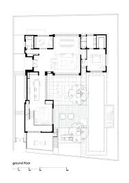 small house plan in modern architecture and three bedrooms to