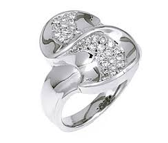 rings 14k white gold diamond engagement set w ring guard 1 3 ct