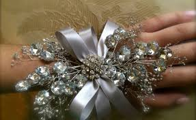 wrist corsages for homecoming silver prom flowers wrist gardening flower and vegetables