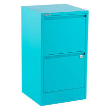 Teal File Cabinet Bisley Aqua 2 3 Drawer Locking Filing Cabinets The Container