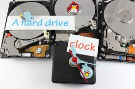 hdd clock cool clock from hard drive indiegogo