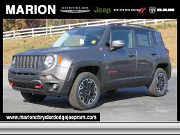 jeep renegade 2017 2017 jeep renegade trailhawk 4x4 in marion nc for sale 28 323