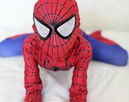 spiderman costume etsy