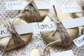 Table Place Cards by Diy Rock Place Cards Rice Designs