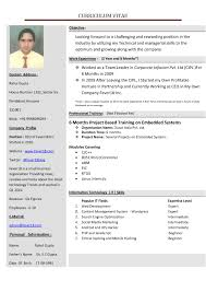 format of resume captivating pattern of resume for abroad in new resume formats