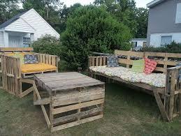 Diy Pallet Bench Instructions Diy Pallet Outdoor Furniture Instructions Home Design Ideas