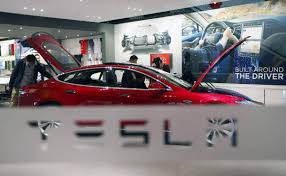 electric semi truck tesla shares jump after musk reveals timeline for electric semi