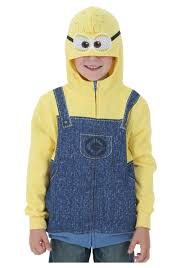 despicable me halloween costumes despicable me minion costume hoodie costumes easy halloween