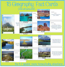 free printable geography fact cards to go with runkle u0027s world
