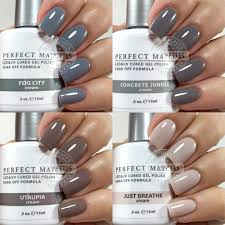perfect match colors a few lechat perfect match neutral shades chickettes soak off gel
