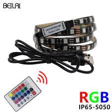 Remote Led Light Strips by Aliexpress Com Buy 5050 Rgb Led Strip Waterproof Usb Dc 5v Led