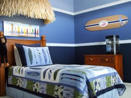 Red And Blue Bedroom Decorating Ideas Red Black Colors Car Shape Bed Frames Boy Bedroom Themes