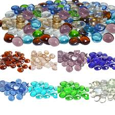 glass pebbles for landscaping the garden of glass landscape