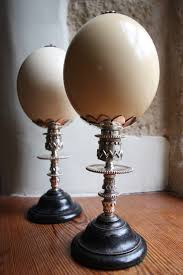 antiques atlas pair of antique decorative ostrich egg ornaments