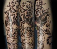 baphomet tattoo by xfreakcorex on deviantart