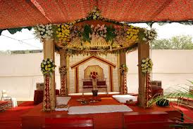 best wedding stage decoration in hyderabad best fabric ceiling