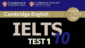 cambridge ielts 10 listening test 1 youtube