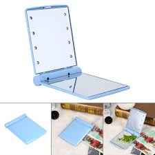 portable makeup vanity with lights compact mirror with led light compact mirror with led light