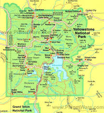 grand national park map best 25 map of yellowstone ideas on yellowstone map