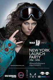 makeup artists in nyc new york fashion week the warpaint launch party warpaint