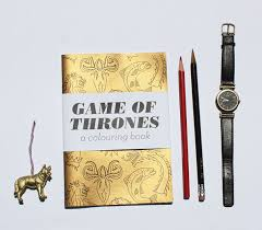 game of thrones coloring book incredible things