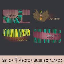 fashion illustrator business card 01 vector free vector 4vector