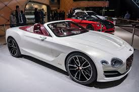 luxury sports cars bentley challenges tesla u0027s idea of electric luxury with a gorgeous