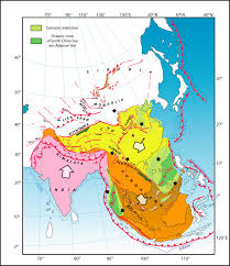 Map Of Singapore Myanmar Earthquake Of March 24 2011 Magnitude 6 8 Earth