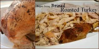 brined roasted turkey