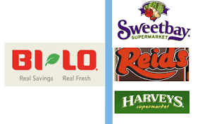 bi lo merger buying harveys sweetbay reids southern savers