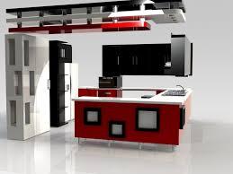 open kitchen 3d design interior design