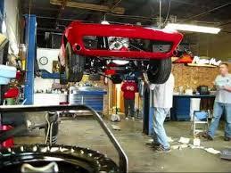 corvette restoration shops 1966 corvette restoration putting the back on