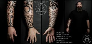 day and night nordic tattoo by meatshop tattoo on deviantart