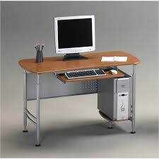 Glass Corner Computer Desks For Home Narrow Computer Table U2013 Littlelakebaseball Com