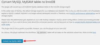 Change Table From Myisam To Innodb How To Automate Updates In Few Minutes Artisans Web