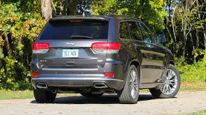 jeep summit 2017 2017 jeep grand cherokee summit review motor1 com photos
