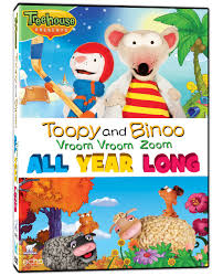 toopy and binoo vroom vroom zoom dvd all year long
