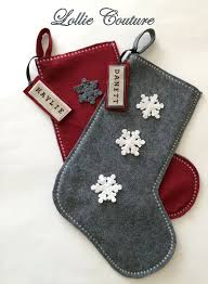 Christmas Stocking Decorations Best 25 Felt Stocking Ideas On Pinterest Diy Wool Felt Stocking