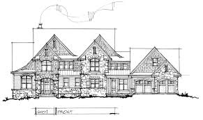 conceptual house plan 6001 two story luxury houseplansblog