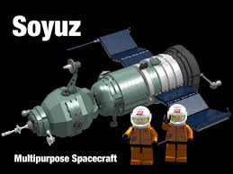 lego ideas soyuz spacecraft and rocket