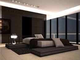 great spot ceiling lights and false decors over low profile master